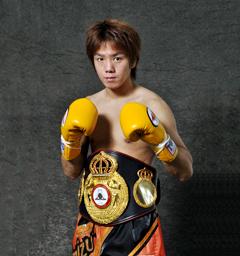 第20代WBA世界スーパーフライ級チャンピオン 清水 智信
