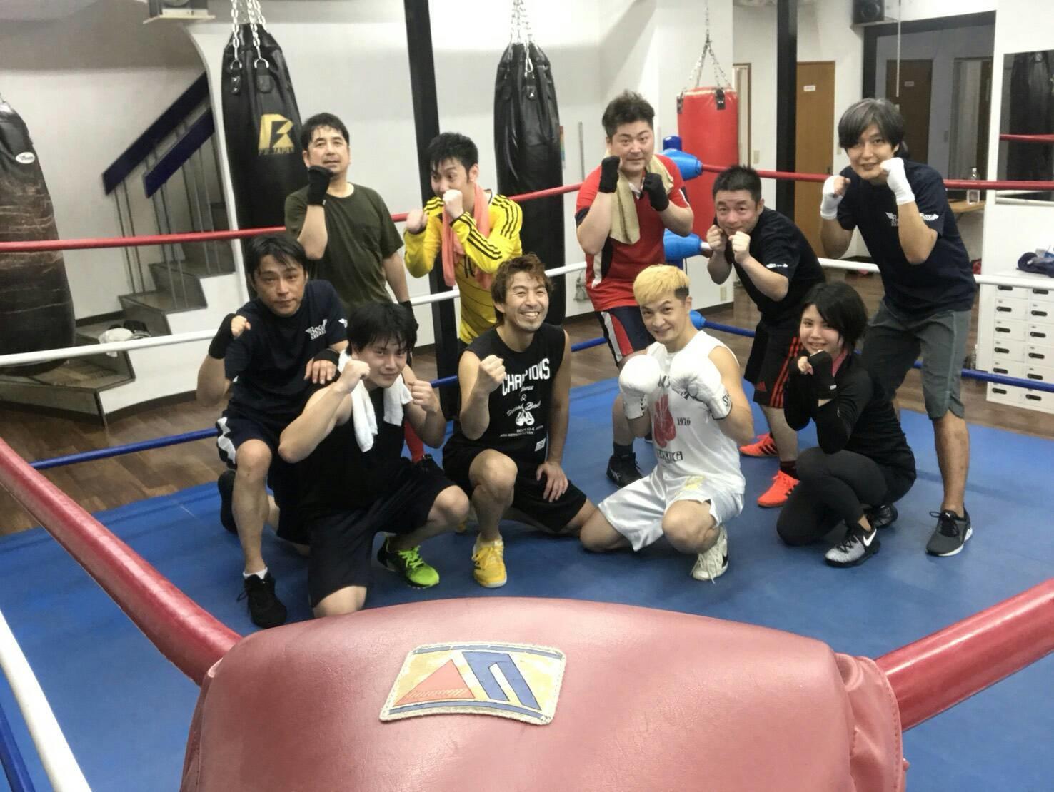 NPO法人 BOXaボクシングレッスン (第22代WBA世界スーパーバンタム級チャンピオン 佐藤 修)